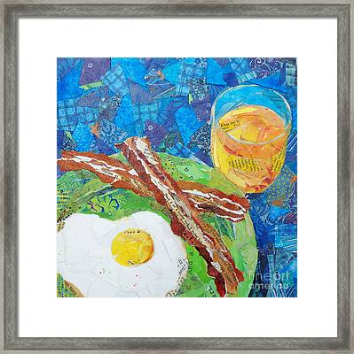 Breakfast Is Ready Framed Print by Patricia Henderson