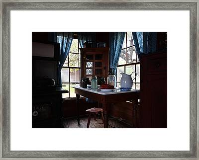 Breakfast Nook Framed Print