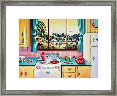 Breakfast Of Champions Framed Print
