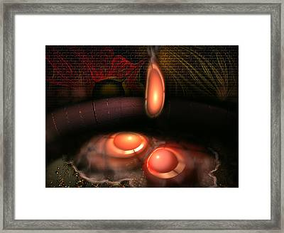 Breakfast Ready Framed Print by Radoslav Nedelchev