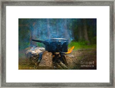 Breakfast Framed Print by The Stone Age