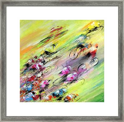 Breaking Away Framed Print