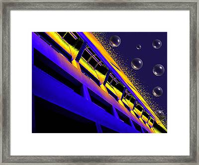 Breaking Away Framed Print by Wendy J St Christopher