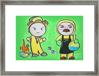 Breaking Bad Broken Framed Print