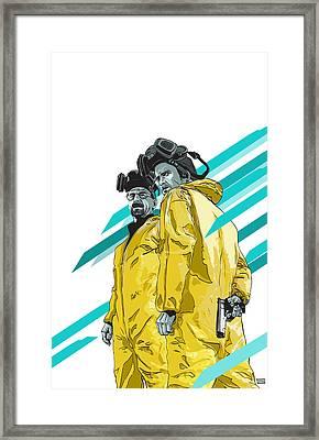 Breaking Bad Framed Print by Jeremy Scott