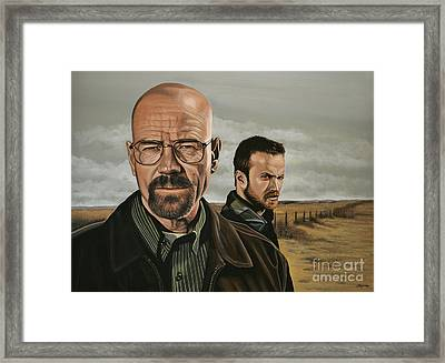 Breaking Bad Framed Print by Paul Meijering