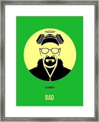 Breaking Bad Poster 3 Framed Print by Naxart Studio