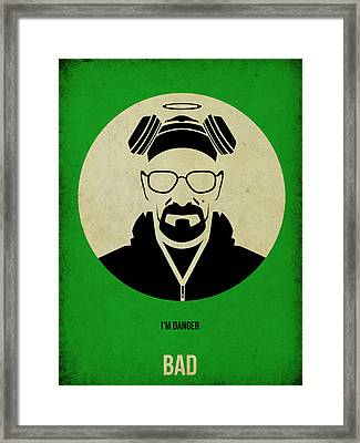 Breaking Bad Poster Framed Print by Naxart Studio