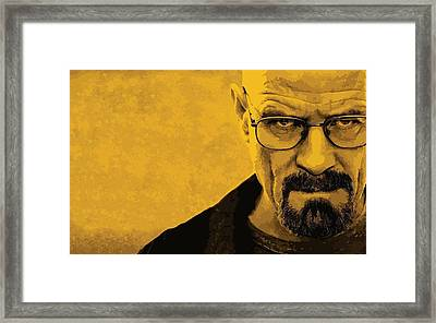 Breaking Bad Framed Print by Gianfranco Weiss