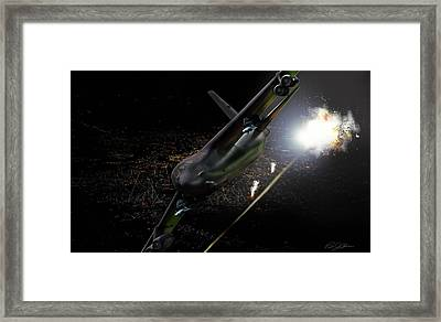 Breaking Baghdad Framed Print by Peter Chilelli