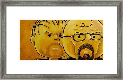 Breaking Brown Framed Print by Al  Molina