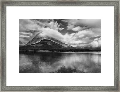 Breaking Clouds Framed Print by Andrew Soundarajan