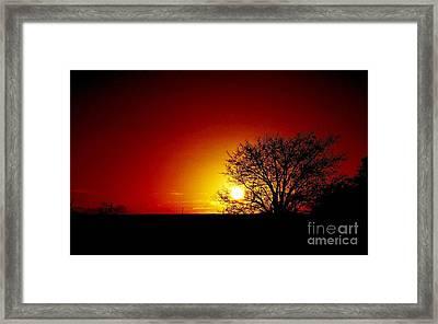 Breaking Dawn Framed Print by Amar Sheow