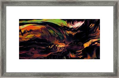 Breaking Of Night Framed Print by Kyle Wood