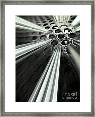 Breaking Out Framed Print by Clare Bevan