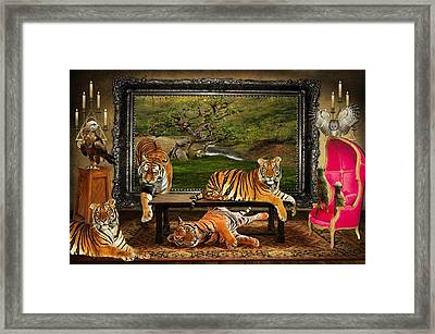 Breaking Out Framed Print by Davandra Cribbie