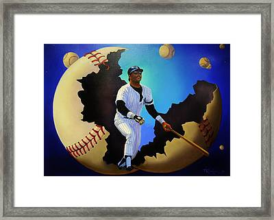 Breaking Out With Regie Framed Print