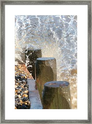Breaking Point 2 Framed Print by Paul Lilley