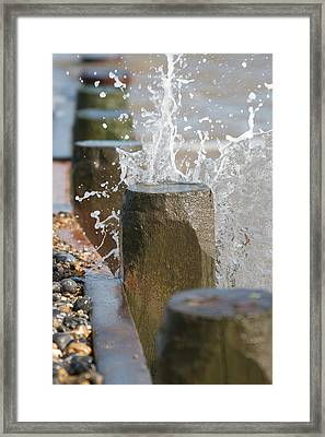 Breaking Point Framed Print by Paul Lilley