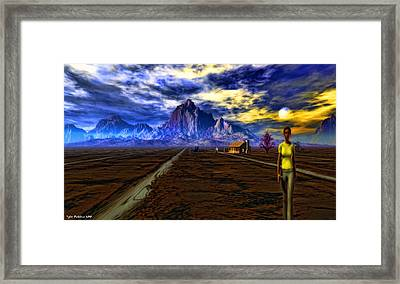 Breaking Point Reached Framed Print