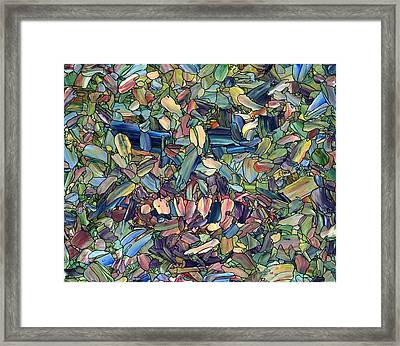 Breaking Rank Framed Print by James W Johnson