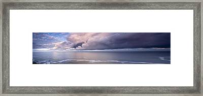 Breaking Storm Framed Print by Andrew Soundarajan