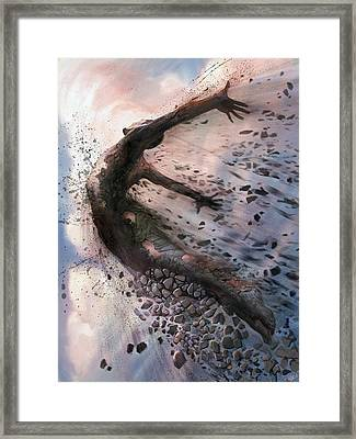 Breaking The Mold Framed Print by Steve Goad