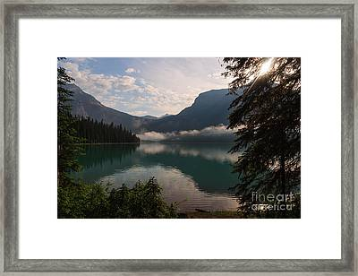 Breaking Through Framed Print
