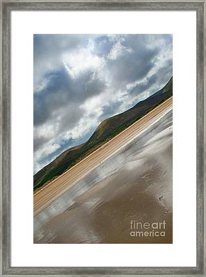 Breaking Through Ireland Framed Print by Jo Collins