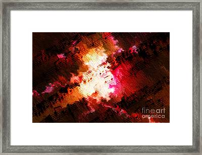 Framed Print featuring the digital art Breaking Through by Lon Chaffin