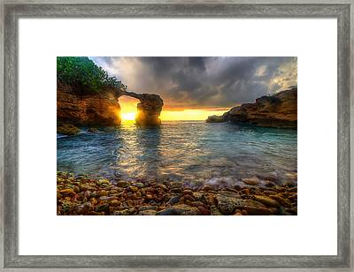 Breaking Through Framed Print by Ryan Smith
