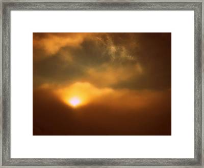 Breaking Through Framed Print by Shirley Sirois