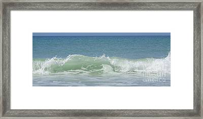 Breaking Waves Framed Print