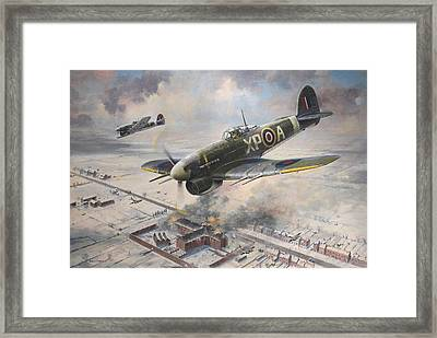 Breakout At Amiens Framed Print