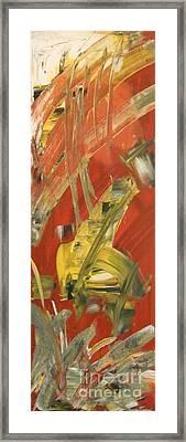 Breakthrough Framed Print by Brendan Ludlow