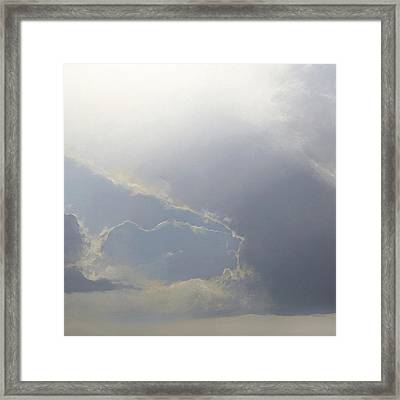 Framed Print featuring the painting Breakthrough Sold by Cap Pannell