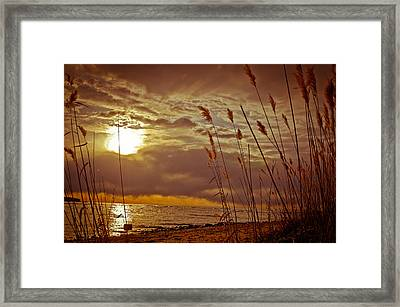 Framed Print featuring the photograph Breakthrough  by Jason Naudi Photography