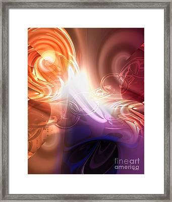 Breakthrough Framed Print by Mo T