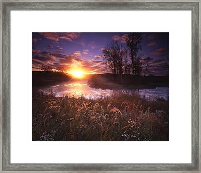 Breakthrough Framed Print by Ray Mathis