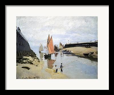French Fisherman Framed Prints