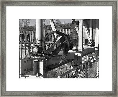 Breakwater Particularly Framed Print by Salvatore Meli