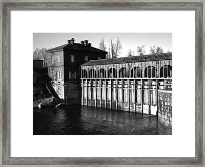 Breakwater  Framed Print by Salvatore Meli