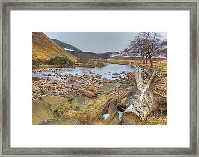 Breamish Valley Landscape Framed Print by David Birchall