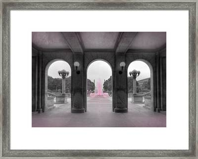 Breast Cancer Awareness Framed Print by Lori Deiter