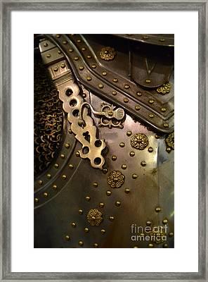 Breastplate Armor Framed Print