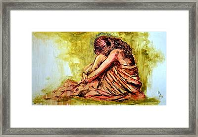 Breath In  Framed Print