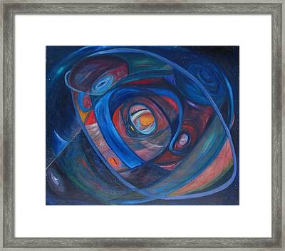 Breath Of Life Framed Print by Phoenix De Vries