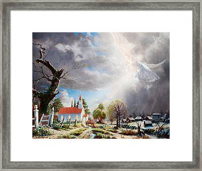 Breath Of Renewal Framed Print by Graham Braddock