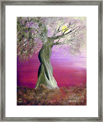 Breath Of Winter 1 Framed Print by Alys Caviness-Gober