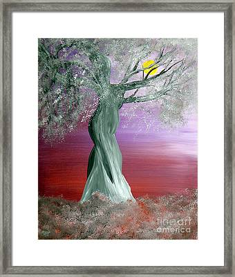 Breath Of Winter 2 Framed Print by Alys Caviness-Gober